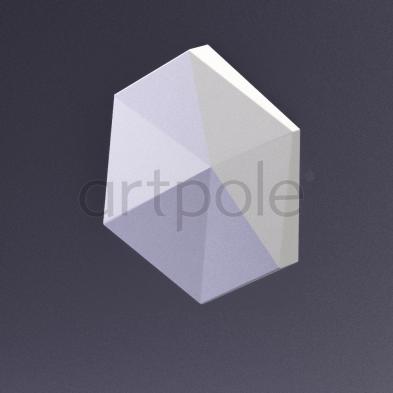 Гипсовая панель Artpole - 3D-панели CUBE-Ex2 E-0014